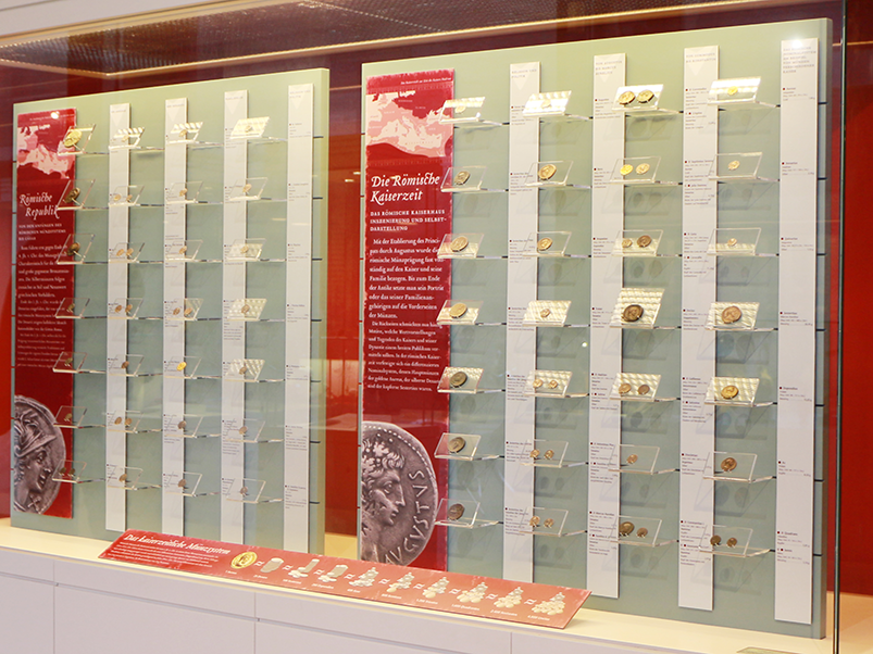 Coins in the Archaelogical Museum